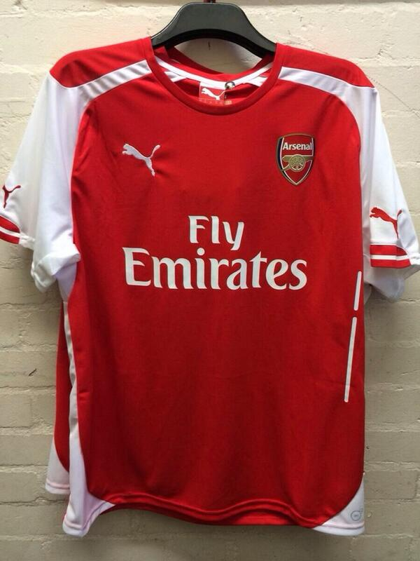 reputable site 04d87 6cd53 Arsenal home kit 2014-2015 by Puma - Arsenal Latest