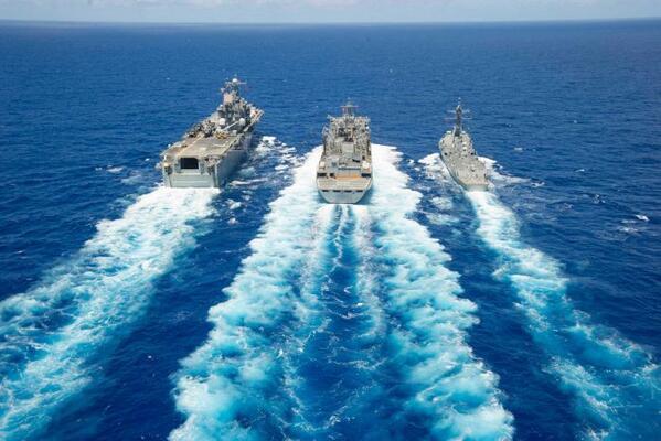 安倍チャンが私たちに隠したいこと! RT @hopi_domingo: 中国の脅威を煽ってるけど、 中国は米国と仲良く軍事演習  China joins world's…   http://t.co/wU3se6zlkI http://t.co/07md1Cb6l5
