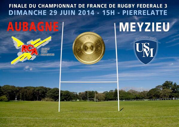 Aubagne champion de France de Fédérale 3 !