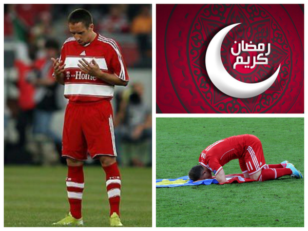 Image result for Franck Ribery ramadan