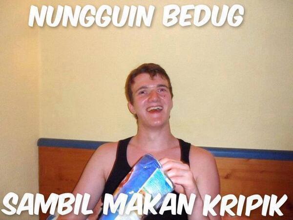 """Uživatel Meme ic Indonesia na Twitteru """"yang dilakukan saat"""