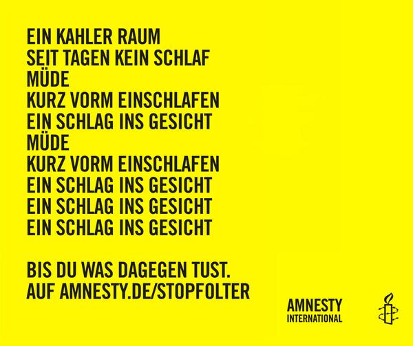 Amnesty Deutschland No Twitter Guten Morgen Müde Vom