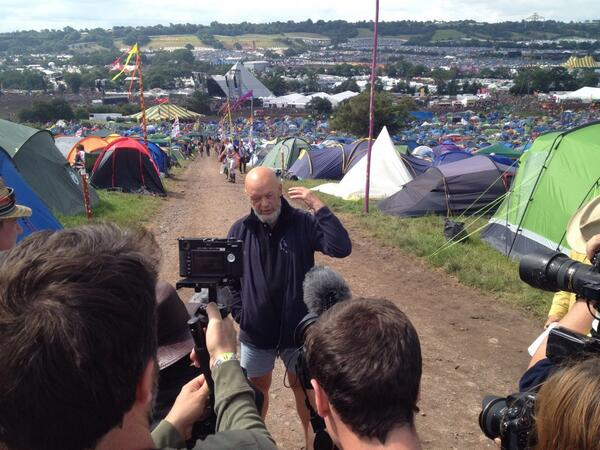 "Glastonbury Twitter: Glastonbury Festival On Twitter: ""Michael Eavis's Sunday"