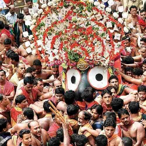 Jagannath Sunabesa Wallpaper Lord Jagannath on The Way to