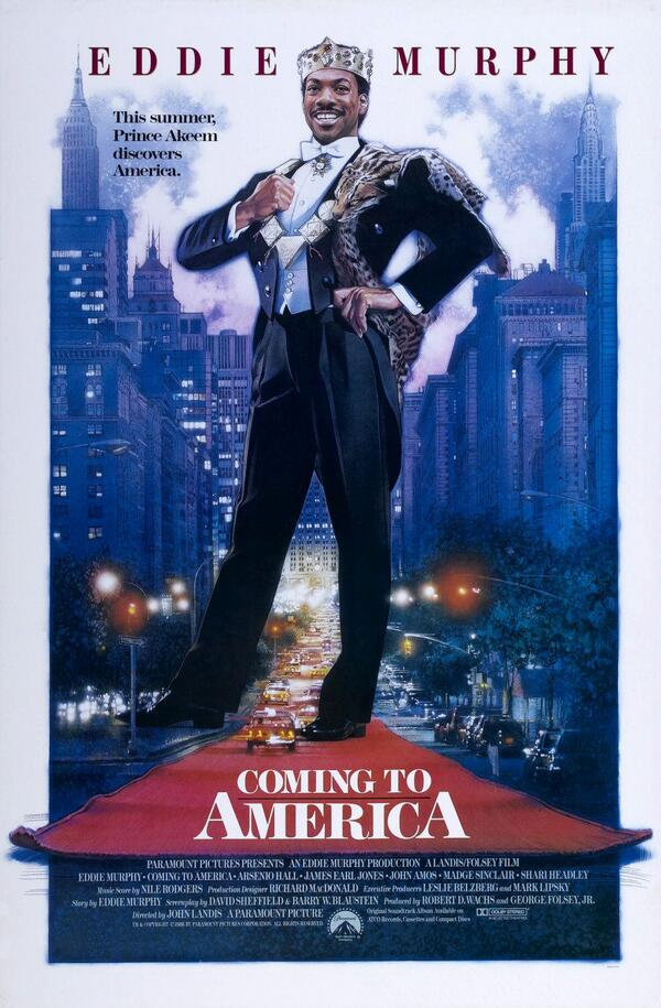 On this day in 1988, Coming To America, is released in theaters. https...