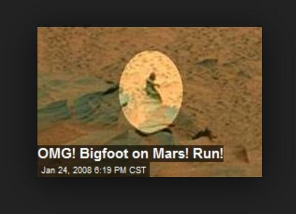 Ultime Notizie. UFO: Foto misteriose in un Video di Marte, vero o falso?