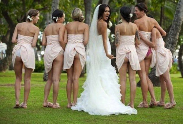 "Barstool Sports on Twitter: ""Bridesmaids flashing their ass seems ..."