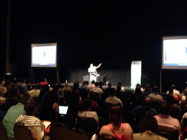 +1 RT @JayBerkowitz: Rocking the crowd at #SMDAYMIA I get to follow my friend @jesus_hoyos http://t.co/EiDOYskeDf