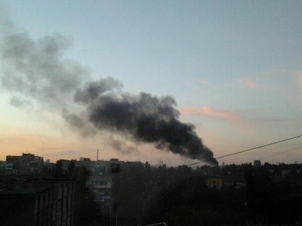 Террористы частично захватили воинскую часть ПВО в Донецке, - пресс-офицер - Цензор.НЕТ 5528