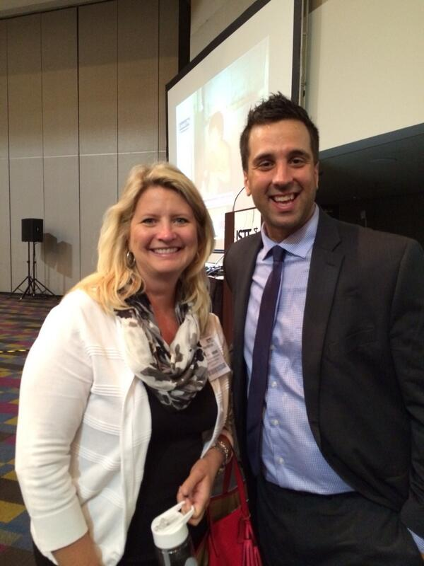 Seriously brought to tears by @gcouros Best speaker I've ever heard!  Amazing!!! #INeLearn #ISTE2014 #ciesctlc http://t.co/jDNGdYLvUc
