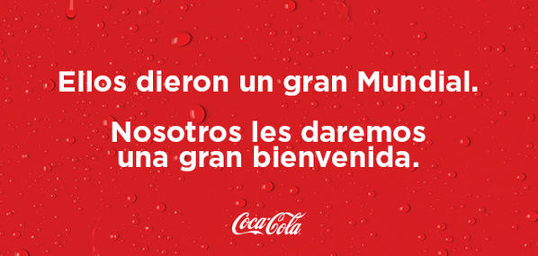 Siempre con ustedes, @miseleccionmx. #LaCopaDeTodos #MEX http://t.co/Y9U9vXKoEB