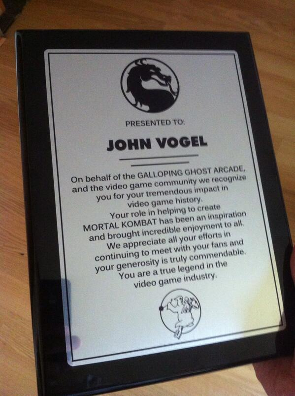 Thanks, Galloping Ghost Arcade! http://t.co/DTnoNPm2A3