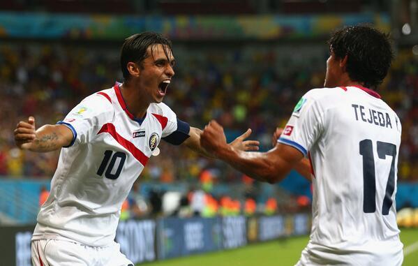 Un gol q grité con todo mi ser x mi Sele q se partió el alma, x Costa Rica q creyó!!1 Q orgullo ser tico http://t.co/shMA88bw0e