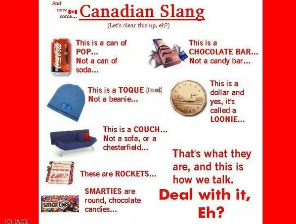 Hahaha, awesome, eh? RT @ErinDiLoreto: For my #American friends to commemorate #CanadaDay a lesson in our #slang http://t.co/zuaFwrtCzt