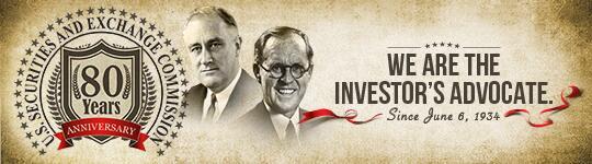 @SEC_Investor_Ed Happy Anniversary, SEC!