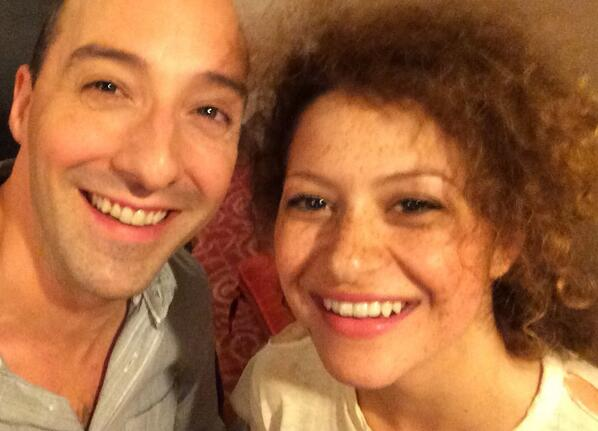 Always a great night running into my niece!  @ShawkatAlia @arresteddev @bluthquotes http://t.co/MsJm5ySnDN