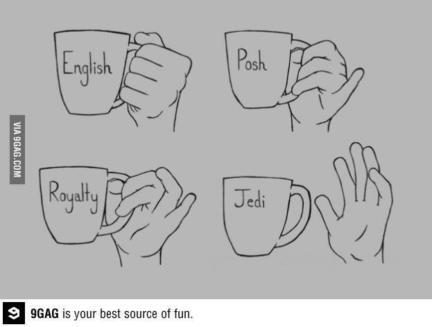 Twitter / JoyAndLife: How to hold a Tea cup. Etiquette ...