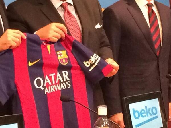 Beko Barselonanın sponsorun oldu (foto)