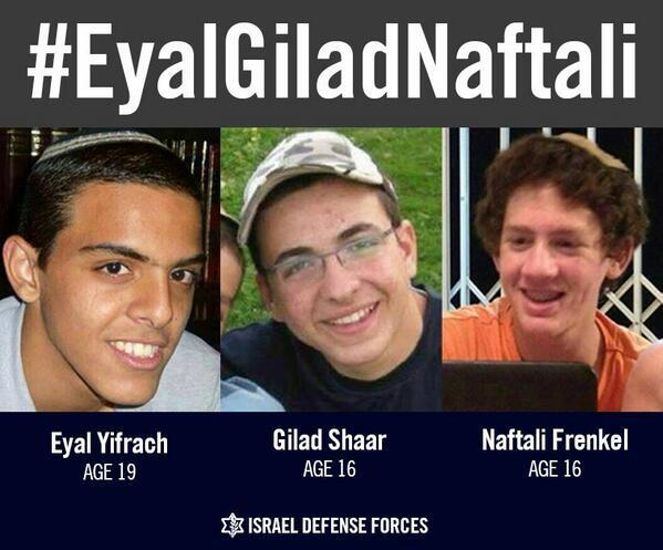 Share: Over 17 days have passed since the kidnapping of #EyalGiladNaftali http://t.co/4m5hbRuQ1c