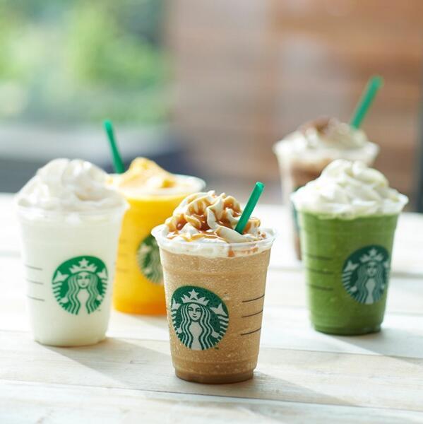 """オンライン上のギフトカード販売サービス""""Starbucks e-Gift""""の取り扱いを開始しました。 ▼▼「ありがとう」と一緒にスターバックスを贈ろう。 https://t.co/oycdUMN212 http://t.co/e4EK1bVtKk"""