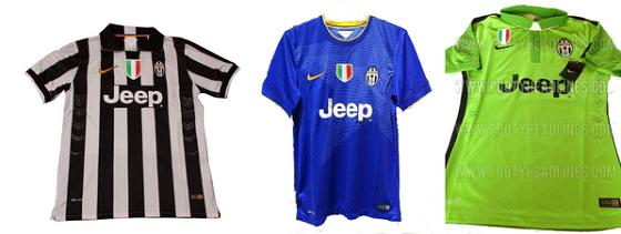 a970b360 Unconfirmed: Juventus 2014/15 Nike home, away & 3rd kits
