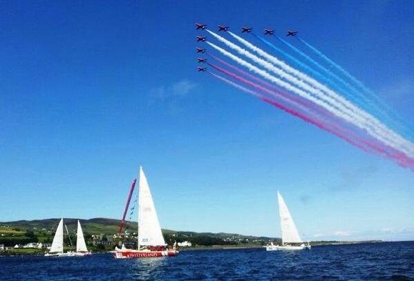 What a #LegenDerry send off! Thanks Northern Ireland @ClipperRace http://t.co/0l2yliqlWq