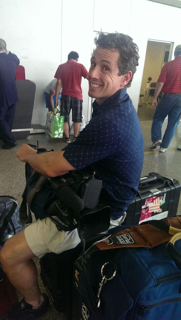 Twitter / ChrisCuomo: En route from #Rio to #Salvador. ...