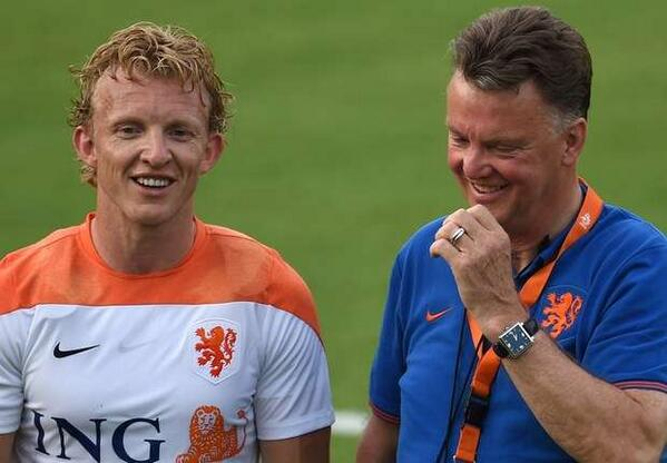 Johan Cruyff says Holland are blessed to have Dirk Kuyt in their side as his heat map goes viral