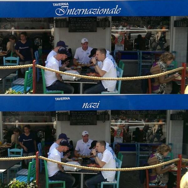 SvP äter lunch i Almedalen. http://t.co/VOSnxsRiTq