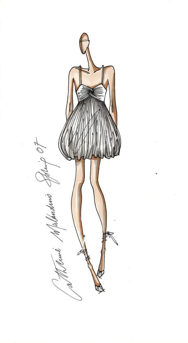 """Fashion responds to the economic climate by providing a way to lift a woman's spirits."" -Catherine Malandrino http://t.co/0ZNioiBI2q"