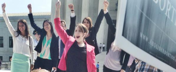 The lawyers of the Hobby Lobby case celebrating the landmark decision for #ReligiousFreedom and #HobbyLobby http://t.co/E3UbwYj4Tj