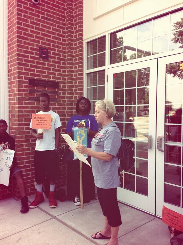 Retired teacher Diane says @GovernorCorbett has chosen destruction over building #PhlEd http://t.co/QUPzAScpJi