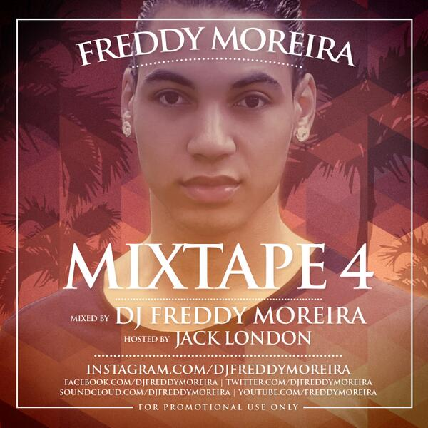 OUT NOW! FREDDY MOREIRA - MIXTAPE 4   #YOUTUBE: http://t.co/Ms26nO2pVn #SOUNDCLOUD: http://t.co/BqEczCuxCp http://t.co/Hl6GuVFcXZ
