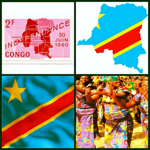 DONGALA On Twitter Happy Independence Day To The Democratic - Congo independence day