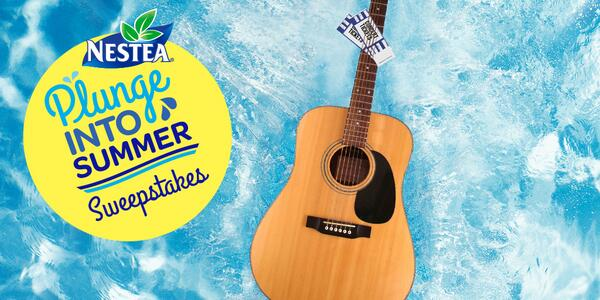 You could win tix to sweet summer concerts! Enter the #NesteaPlunge Sweeps: http://t.co/pJIUMCaCO7 (Ends 8/30/14) http://t.co/FPAMd2BmpG