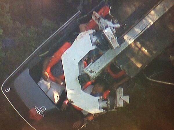 #BREAKINGNEWS at least 4 injured on #Ninja ride at Magic Mountain; initial reports that ride hit a tree http://t.co/NEIdNurSnq