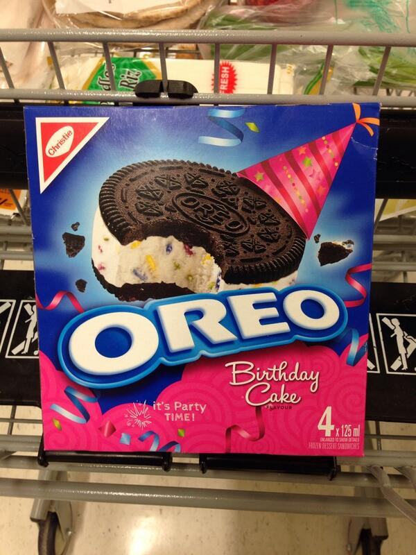 Access Winnipeg On Twitter OREO Birthday Cake Ice Cream Sandwich