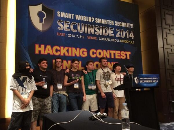 SECUINSIDE CTF final http://t.co/wP7Pr2lCTC