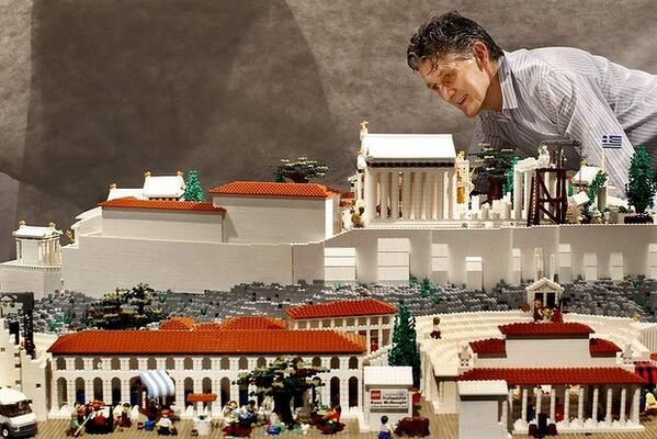 #LEGO ALERT: The Lego Acropolis @NicholsonMuseum is heading to Acropolis Museum in Athens. http://t.co/6TeCorms3g http://t.co/xBotBtVtqb