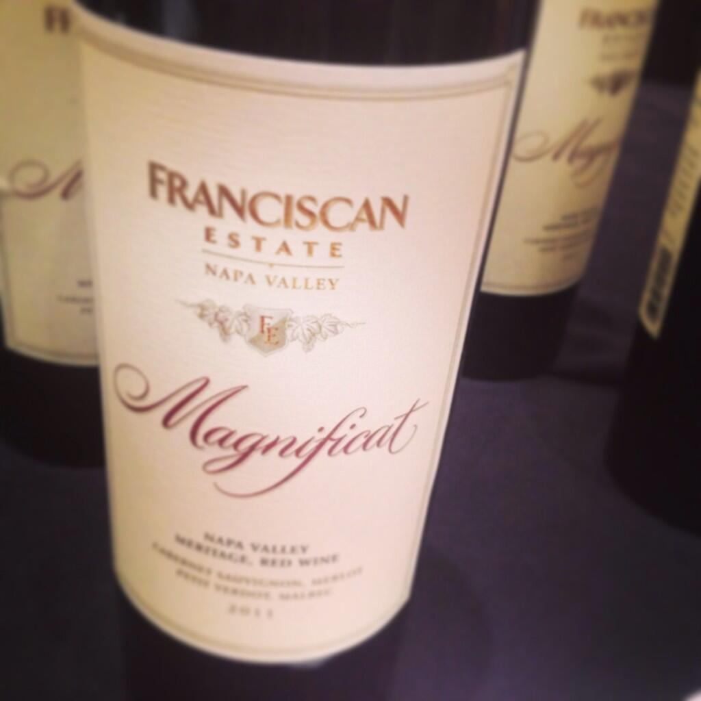 Twitter / alizasherman: Next up: #Franciscan Magnificent! ...