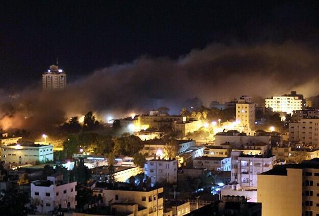 gaza air attacks