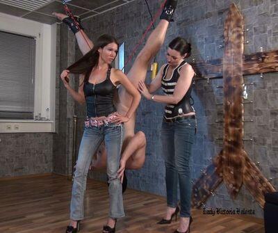 femdom bondage and suspension