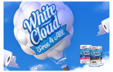 "White Cloud ""Free 4 All"" Challenge = Free Toilet Paper  http://t.co/oeoaEz0nCw #Free #WhiteCloud #Free4All #ad http://t.co/TeO9XVu0dl"