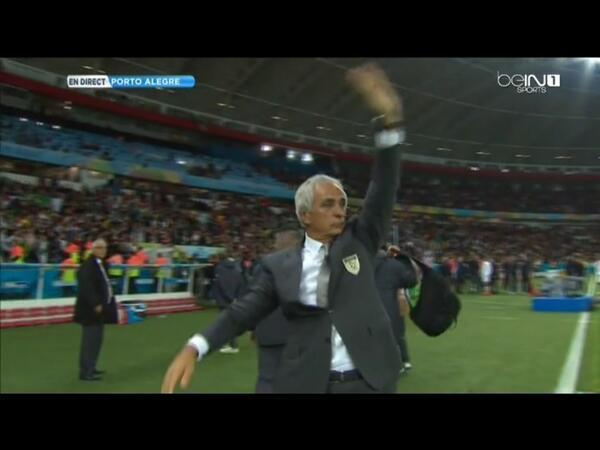 Félicitations à Vahid Halilhodžić qui peut quitter la sélection algérienne la tête haute #ALG http://t.co/1jdk17vfdd
