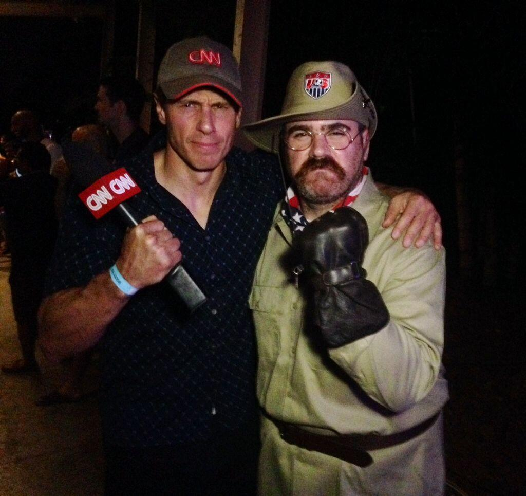 Twitter / ChrisCuomo: With Teddy GOALsevelt at the ...