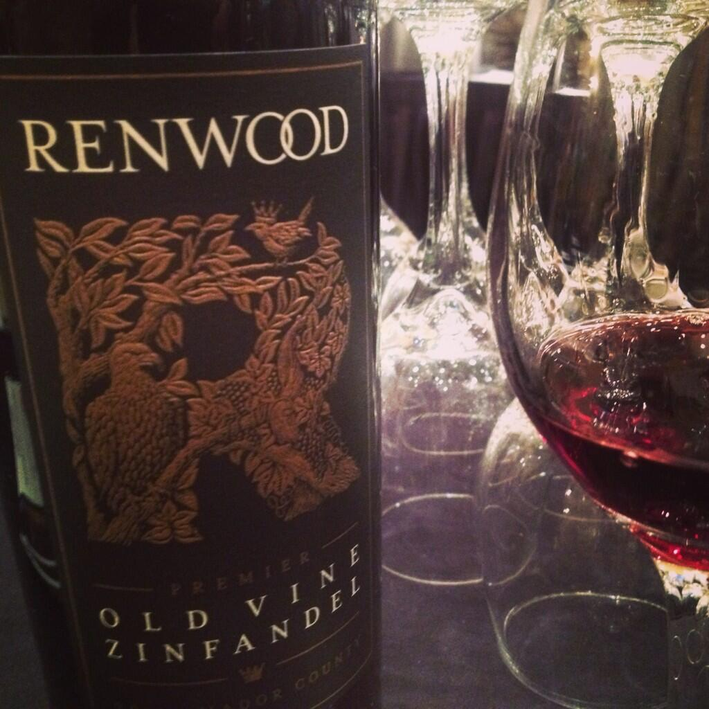 Twitter / alizasherman: Renwood Old Vine Zinfandel ...