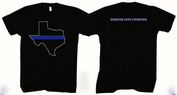 Fort worth police oa on twitter get your texas thin blue for Texas thin blue line shirt