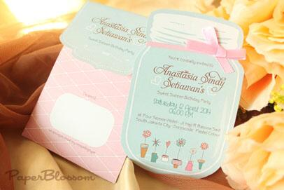 Paperblossom On Twitter Sweet 17 Birthday Party Invitation