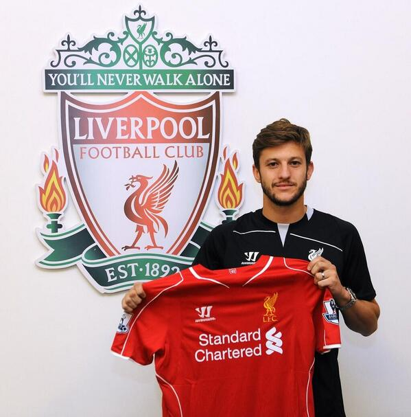The best Tweets as Liverpool announce £25m signing of Adam Lallana