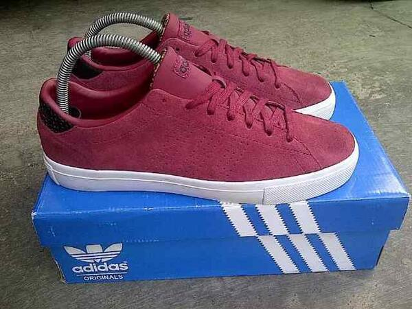 3rd casual on twitter adidas neo daily clean suede red size 42 2 3 just 400k lets order t.co asmtezksuj